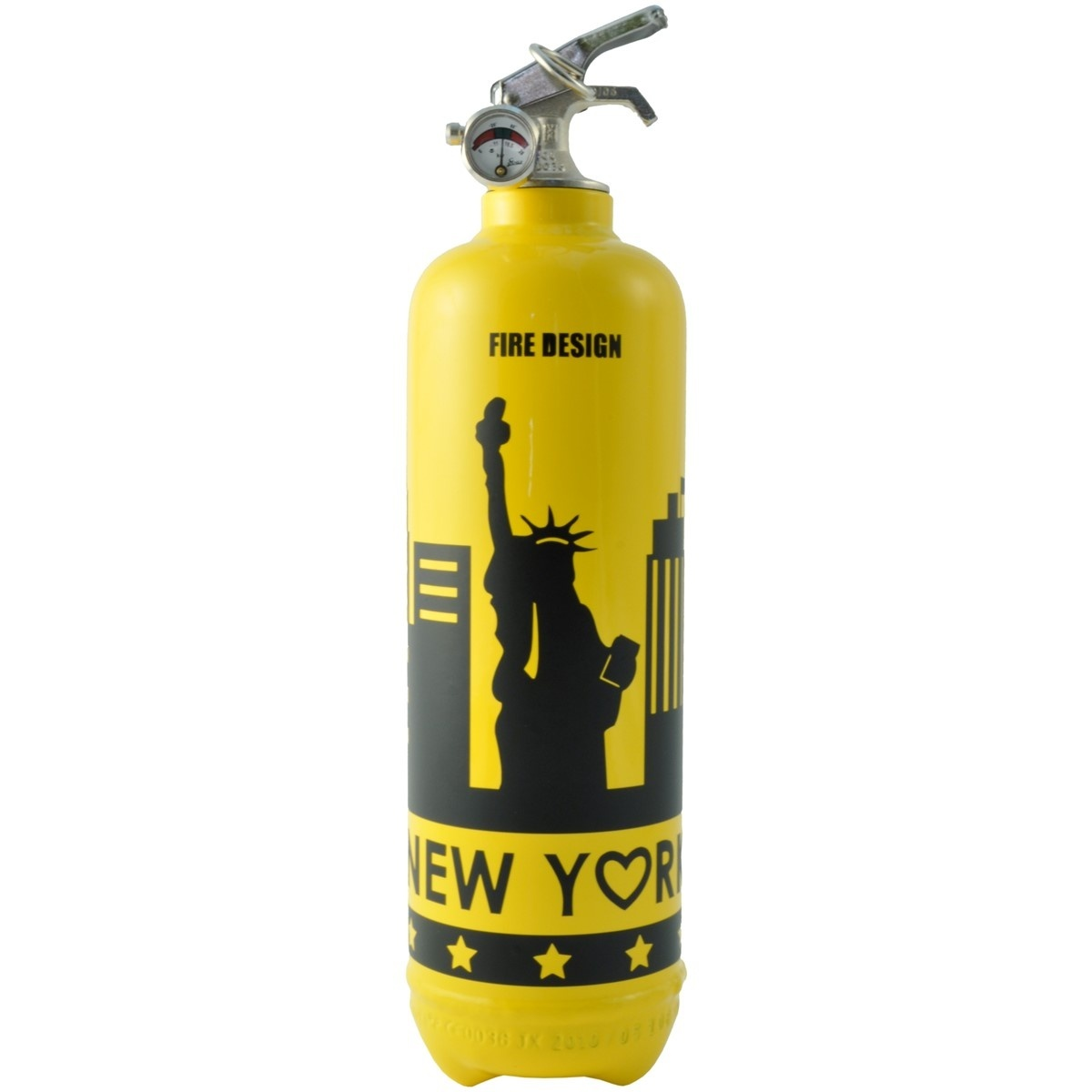 Extincteur New York Jaune - Fire Design