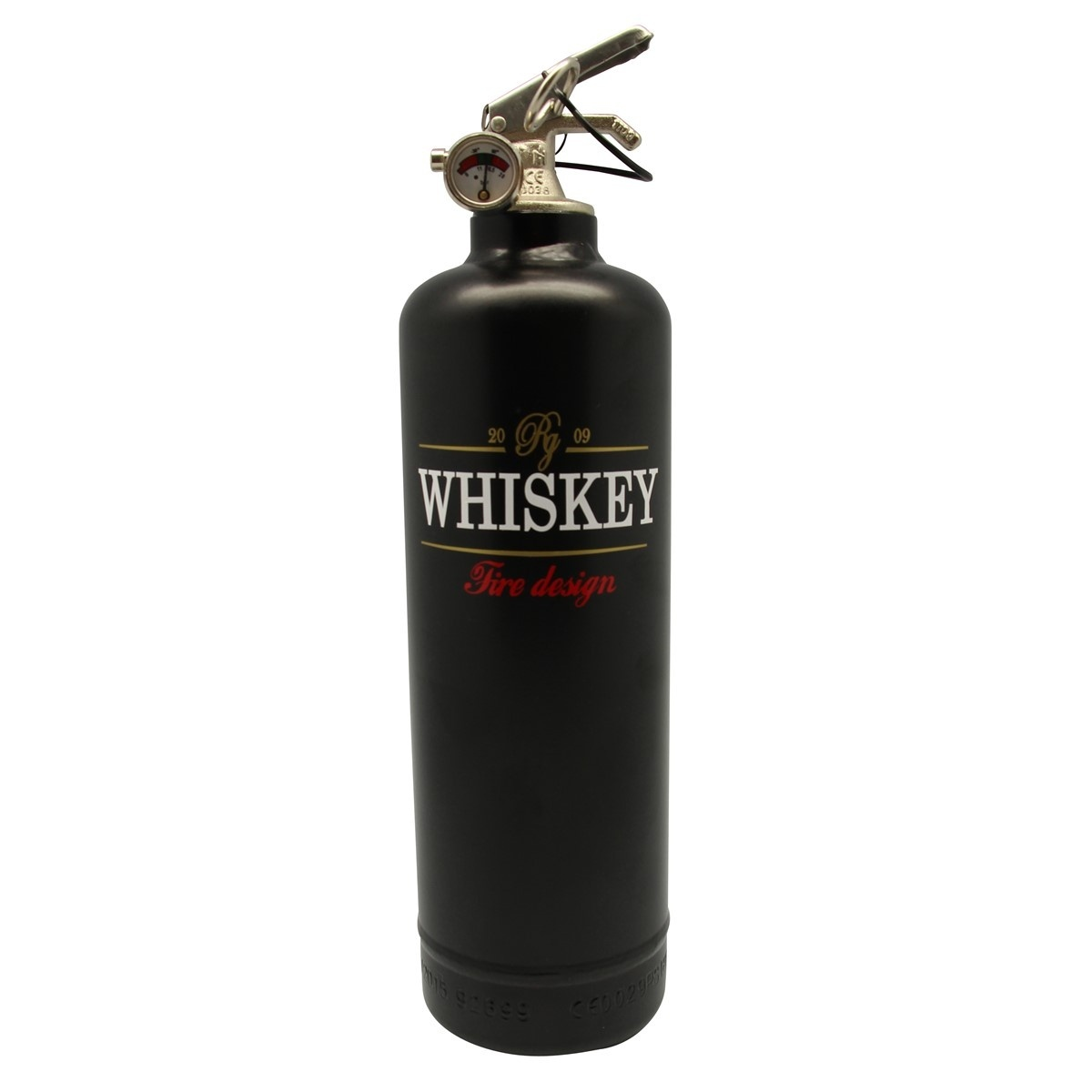 Extincteur Whiskey 2009 - Fire Design