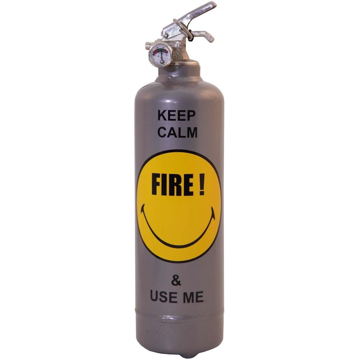 Extincteur Smiley Keep Calm - Fire Design