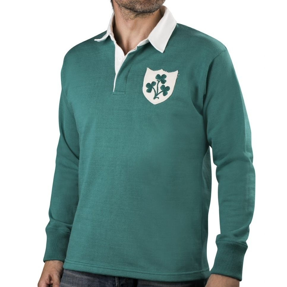Maillot Irlande 1950 - Sports d'Époque