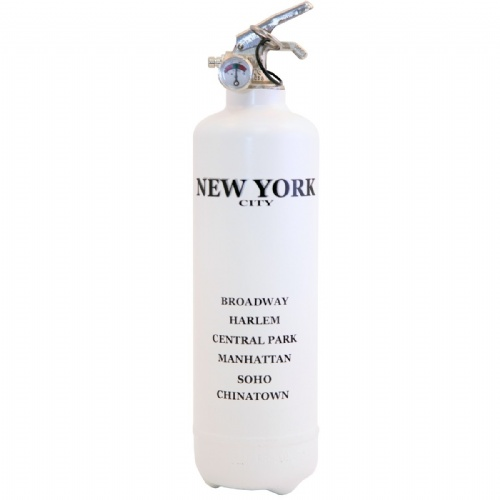 Extincteur New York - Fire Design