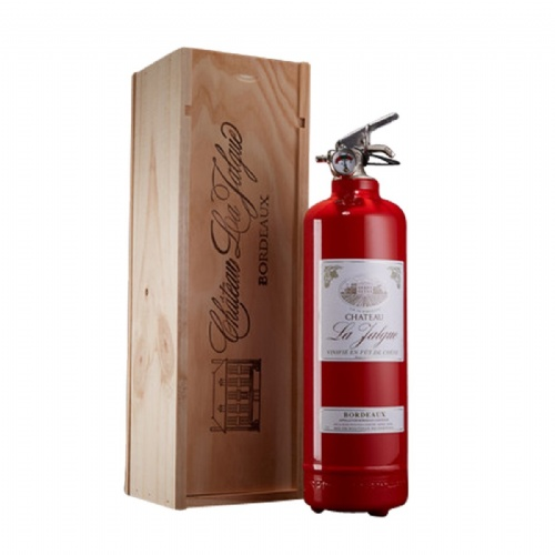 Extincteur Coffret vin rouge - Fire Design