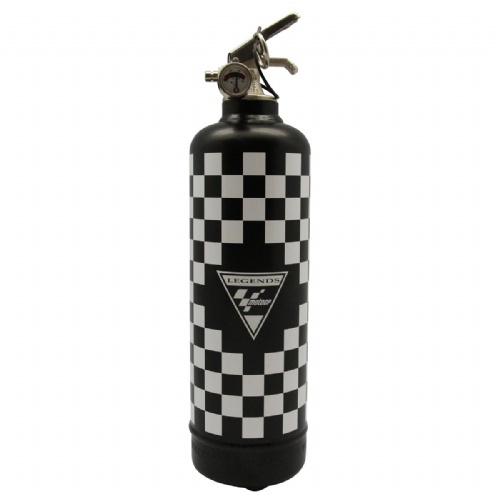 Extincteur Moto GP Flag - Fire Design