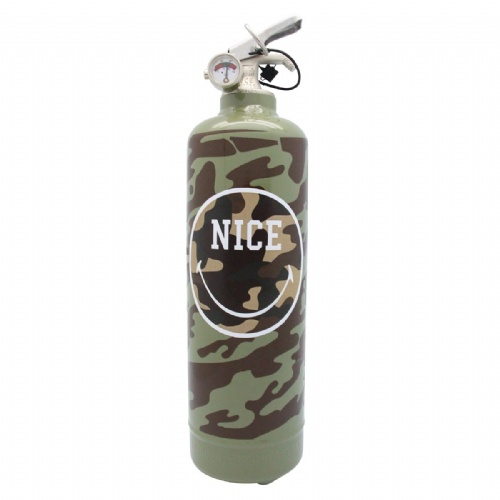 Extincteur Smiley Nice Military - Fire Design